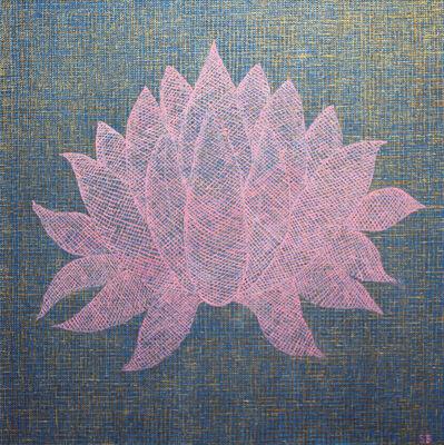 Susan Bleakley, 'Lotus Resting In Gold', 2016
