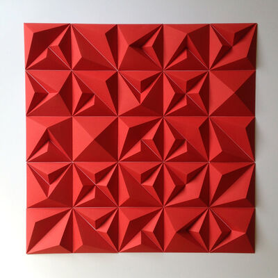 Matt Shlian, 'RLRR Red', 2017