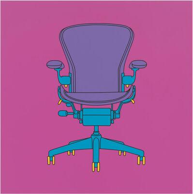 Michael Craig-Martin, 'Untitled (Miller chair)', 2015