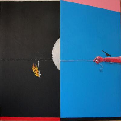 Emmanuel Nassar, 'Inclinação azul'