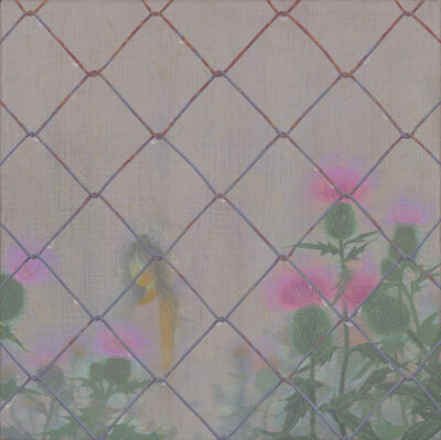 Fuco Ueda, 'he day when it rained -Thistle-', 2019