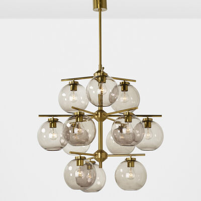 Holger Johansson, 'Chandelier and two sconces', 1952