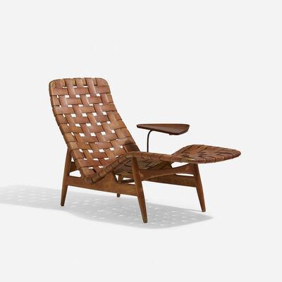 Arne Vodder, 'Rare chaise lounge', c. 1950