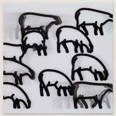 Julian Opie, 'Nature 2 - Sheep', 2015