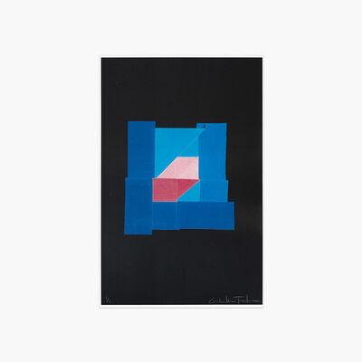 Gabrielle Teschner, 'Blue Solution (Volta) ', 2018