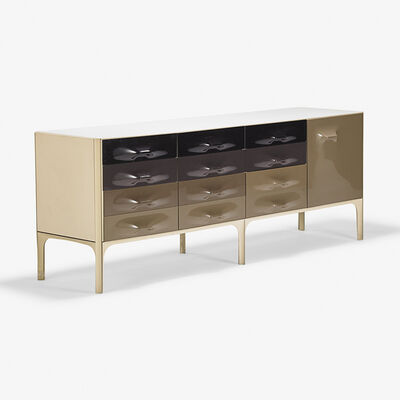 Raymond Loewy, 'DF-2000 cabinet, France', 1970s