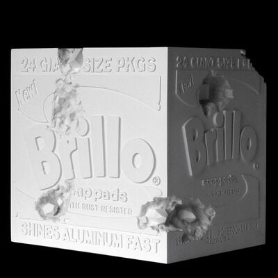 Daniel Arsham, 'Eroded Brillo Box', 2020