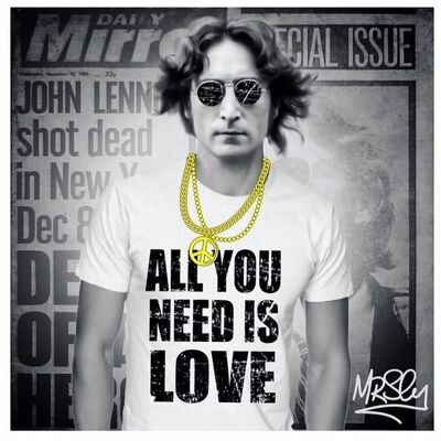 Mr.Sly, 'ALL YOU NEED IS LOVE', 2017