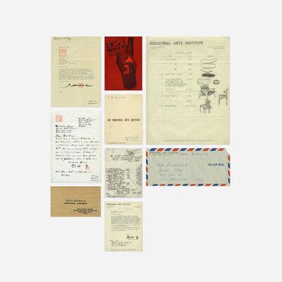 Isamu Kenmochi, 'collection of letters and ephemera'