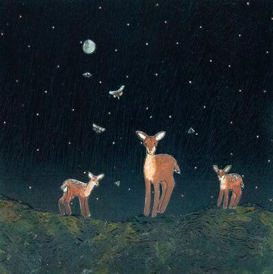 Ashley Anne Clark, 'Deer Family ', 2019