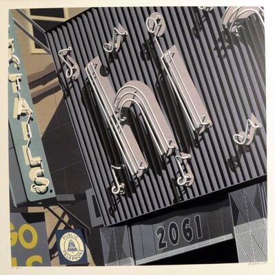 Robert Cottingham, 'Hi', 2009