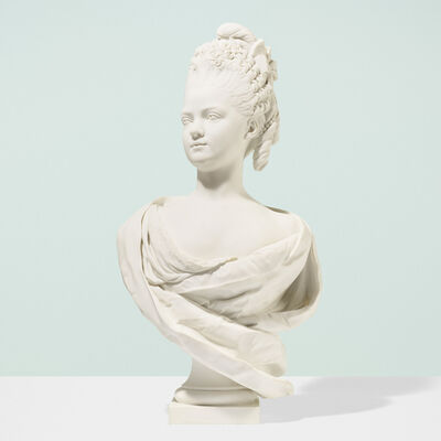 Sevres, 'Bust of Marie Adelaide Clotilde Xaviere'