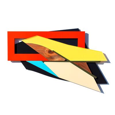 Charlie Edmiston, 'Green X No 3', 2019