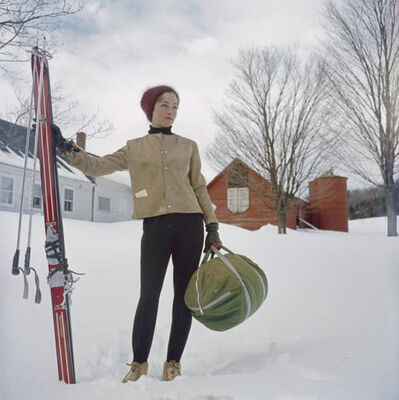 Slim Aarons, 'Skiing In Stowe', 1962