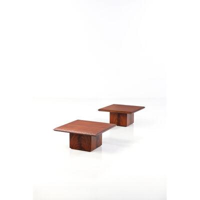 Frank Lloyd Wright, 'Pair of coffee tables - Model 452.0', 1950