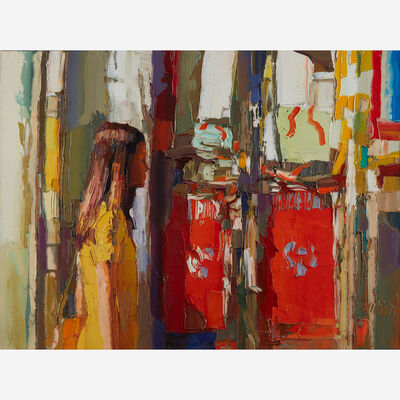 Nicola Simbari, 'Girl in Yellow Dress'