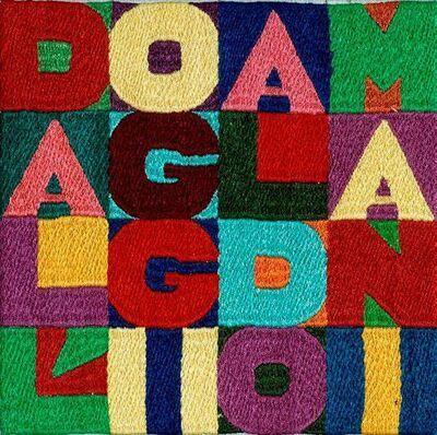 Alighiero Boetti, 'Dall' Oggi al Domani', 1989