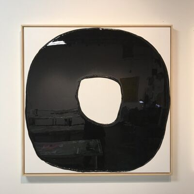 Ted Collier, 'Drip Circle Series 4, Midnight Black', 2019