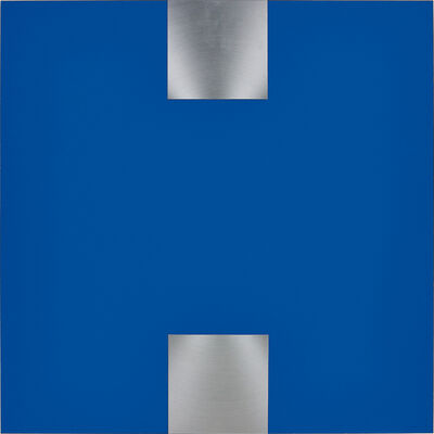 Getulio Alviani, 'Contrappunto nel blu', 1978 -2000