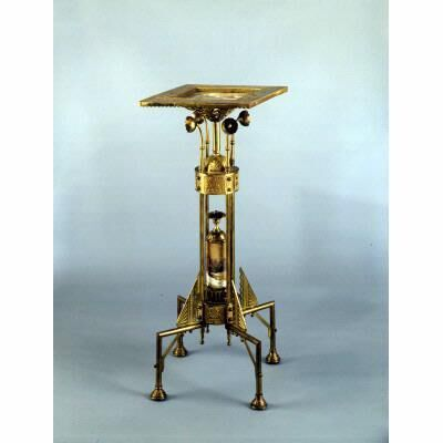 Unknown Artist, 'Aesthetic Style Brass Stand or Table', 1875-1890