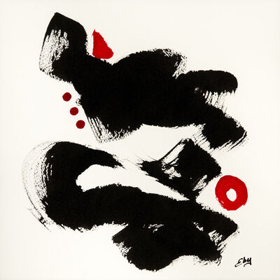 Lois Eby, 'Six Improvisations in Black & Red IV'