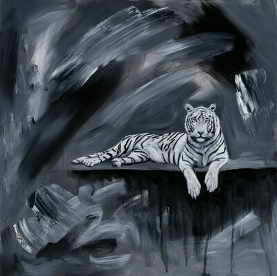 Robin Hextrum, 'White Tiger ', 2019
