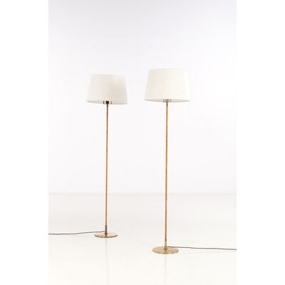 Paavo Tynell, 'Model 9627,  Pair of Floor lamps', near 1950