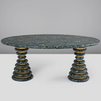 Marzio Cecchi, 'Green Marble Centre Table', ca. 1960