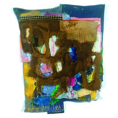Alan Neider, 'Paint & Tar 4', 2017