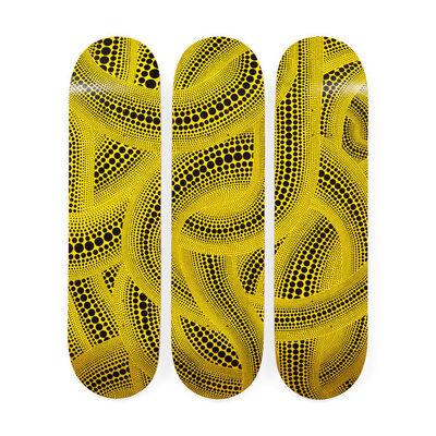 Yayoi Kusama, 'Yellow Trees Skateboard Decks', 2018