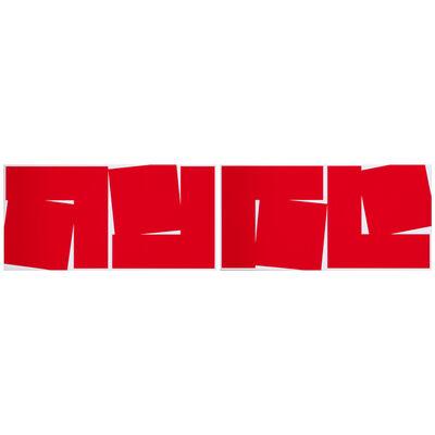 Vera Molnar, 'Deux carrés en deux morceaux', 2000