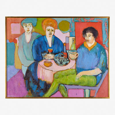 Humbert L. Howard, 'Women in a Cafe', 1976