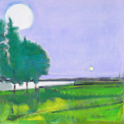 Elizabeth Higgins, 'Sun and Moon', 2018