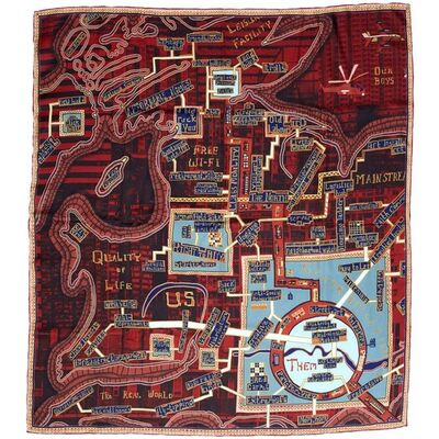 Grayson Perry, 'RED CARPET', 2017
