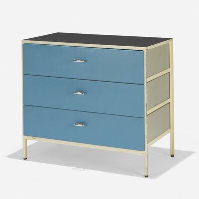George Nelson & Associates, 'Steelframe cabinet, model 4012', 1950