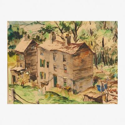 Henry Martin Gasser, 'Lambertville Houses'