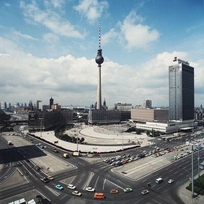 Thomas Billhardt, 'Blick auf den Alexanderplatz', 1987