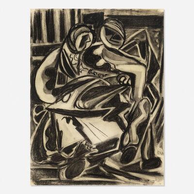 Joseph Meierhans, 'Untitled (figures)', 1954