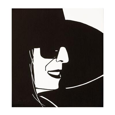 Alex Katz, 'Black Hat Ada', 2012