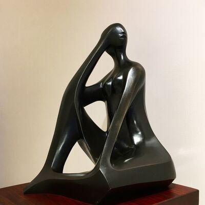 Elizabeth Catlett, 'Triangular Woman', 1979