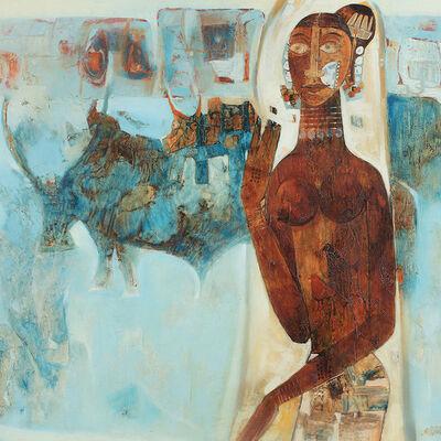 J. Sultan Ali, 'Muria Maiden', 1967