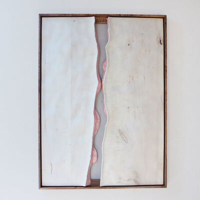 Julian Watts, 'White Painting (Live Edge I)', 2019