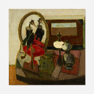 Claude Venard, 'Birds and Lamps'