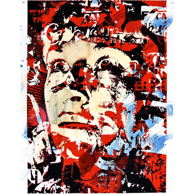 Vhils, 'Out Of Your Comfort Zone', 2010