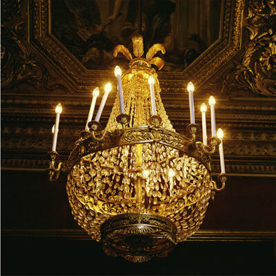Doug Hall, 'Chandelier, Pitti Palace # 3', 1997