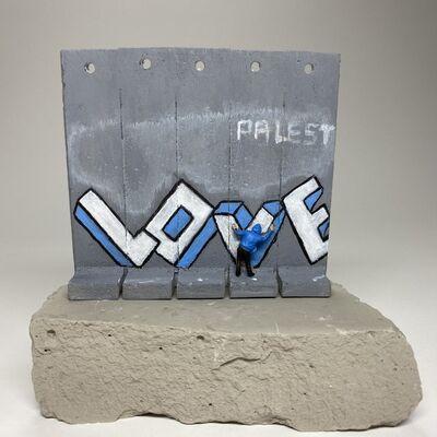 Banksy, 'SUMMER SALE / Banksy Walled Off Hotel Wall Sculpture - Love / October 2017 / RARE Coloration & Design', September 2017