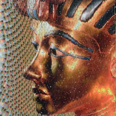 David Mach, 'King Tutankhamun', 2010