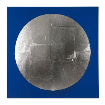 Chad Kouri, 'Reflection Pool Blue (4x4)', 2021
