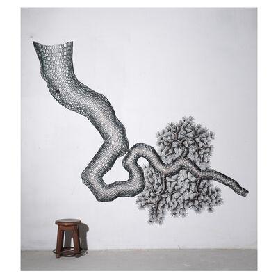 Gilrae LEE, '노송도 Old Pine Tree', 2017