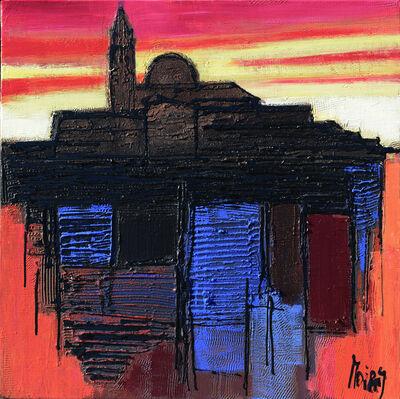 Moiras Jean, 'L'ile San Giorgio en feu', 2019